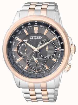 Citizen | мужской эко-драйв | браслет из нержавеющей стали | BU2026-65H