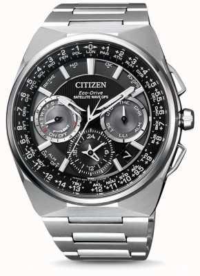 Citizen | мужская эко-драйв спутниковая волна GPS | титановый браслет | CC9008-84E