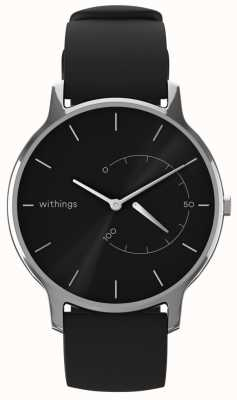 Withings Переместить вневременной шик - черный, черный силикон HWA06M-TIMELESS CHIC-MODEL 1-RET-INT