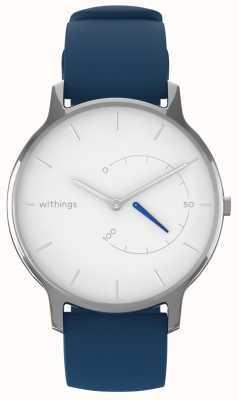 Withings Переместить вневременной шик - белый, синий силикон HWA06M-TIMELESS CHIC-MODEL 2-RET-INT