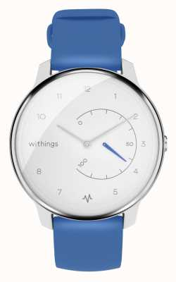 Withings Переместить ЭКГ | белый и синий | трекер активности HWA08-MODEL 2-ALL-INT