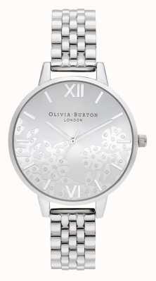 Olivia Burton | женская | украшенное драгоценными камнями кружево | браслет из нержавеющей стали | OB16MV101