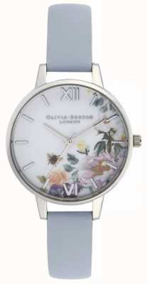 Olivia Burton | женская | заколдованный сад | мел синий ремешок | OB16EG114