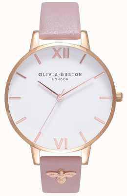 Olivia Burton | женская | 3d пчела | кожаный ремешок с отделкой | OB16ES15