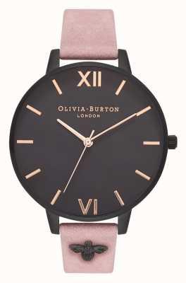 Olivia Burton | женская | 3d пчела | замшевый ремешок с розой | OB16ES09