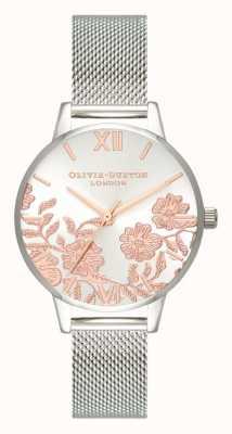 Olivia Burton | женская | кружевная деталь | браслет из нержавеющей стали | OB16MV90