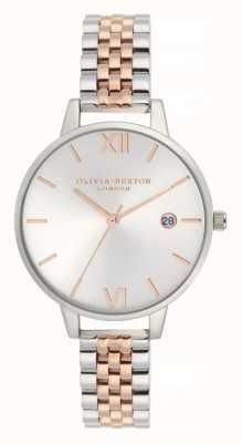 Olivia Burton | женская | деми свидание | двухцветный браслет из нержавеющей стали | OB16DE06