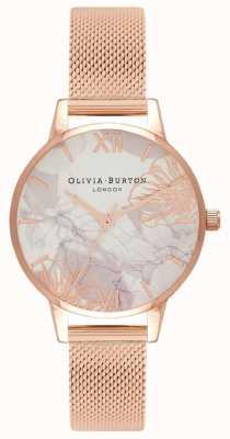 Olivia Burton | женская | абстрактные цветочные | браслет из розового золота | OB16VM11