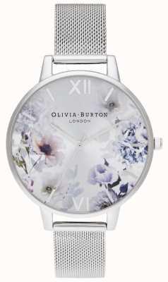 Olivia Burton | женская | цветочные солнечные лучи | браслет из стальной сетки | OB16EG117