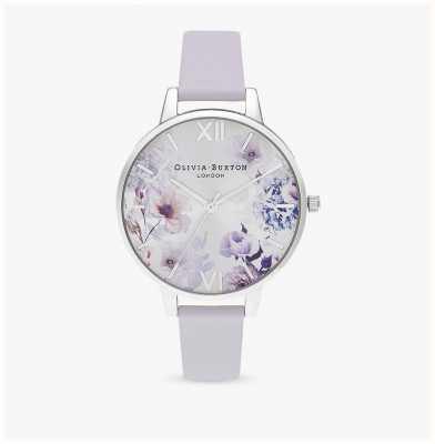 Olivia Burton | женская | цветочные солнечные лучи | ремешок из пармы фиолетовый | OB16EG137