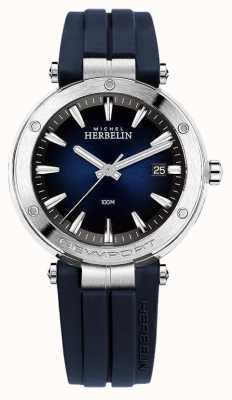 Michel Herbelin | мужские | Ньюпорт | синий циферблат | резина | 12288/15CB