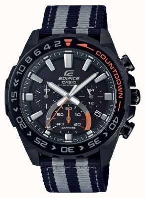 Casio | мужские | здание | премиум | черный серый ремешок | смотреть | EFS-S550BL-1AVUEF