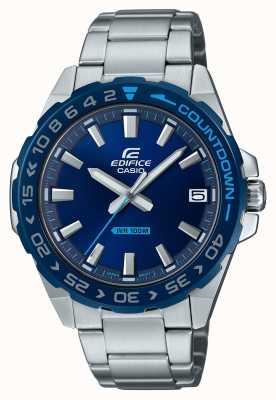 Casio | мужские | здание | классический | синий циферблат | нержавеющая сталь | EFV-120DB-2AVUEF