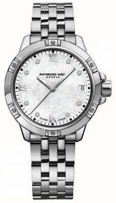 Raymond Weil | женское танго | набор с бриллиантами | браслет из нержавеющей стали 5960-ST-00995