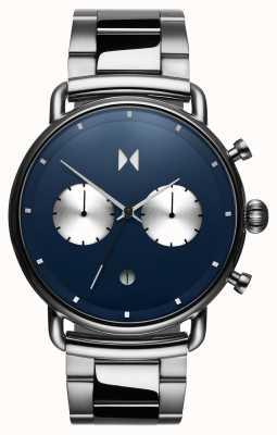 MVMT Черное покрытие астро-синий | нержавеющая сталь | синий циферблат D-BT01-BLUS