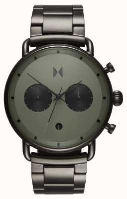 MVMT Blacktop ралли зеленый бронзовый | браслет из пвд | зеленый циферблат D-BT01-OLGU