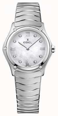 EBEL Классика женского спорта | перламутровый циферблат | алмазный набор | 1216417A