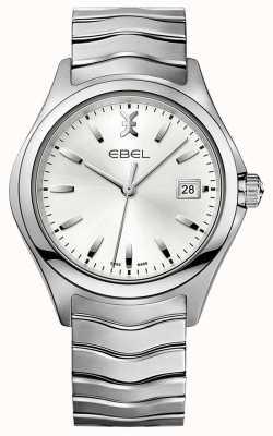 EBEL | мужская волна | браслет из нержавеющей стали | серебряный циферблат | 1216200