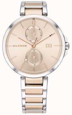 Tommy Hilfiger | женский двухцветный браслет из нержавеющей стали | румяна циферблат | 1782127