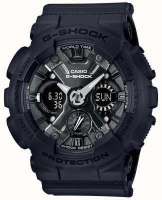 Casio | g-шок | серия s | черная смола | GMA-S120MF-1AER