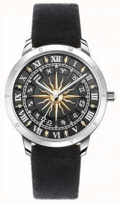 Thomas Sabo | женские солнечные часы | черный бархатный ремешок | черный 3d солнечные часы SET_WA0351-217-203-33