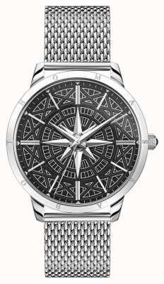 Thomas Sabo | мужской компас духа бунтаря | браслет из нержавеющей сетки | WA0349-201-203-42