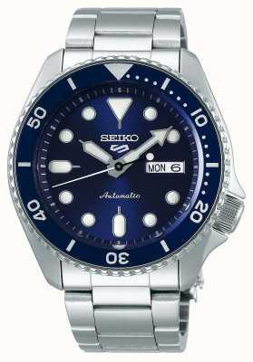 Seiko 5 спорт | спорт | автоматический | синий циферблат | нержавеющая сталь SRPD51K1