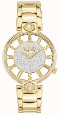 Versus Versace | женский Кирстенхоф | позолоченный браслет | блеск циферблат VSP491419