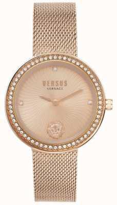 Versus Versace | женская леа | браслет из розового золота | циферблат из розового золота | VSPEN0919