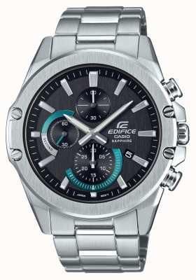 Casio | здание | классический | хронограф | стальной браслет | EFR-S567D-1AVUEF