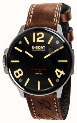 U-Boat Капсул сс электромеханика коричневая кожа 8110/A