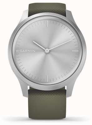 Garmin Стиль Vivomove 3 | серебряный алюминиевый корпус | силиконовый ремешок из мха 010-02240-01