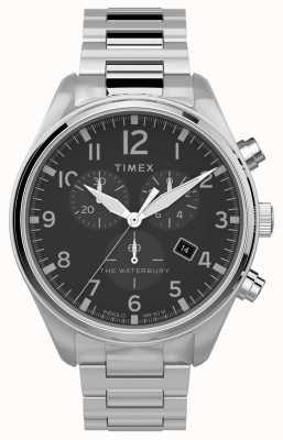 Timex | Уотербери традиционный хроно 42мм | нержавеющая сталь TW2T70300
