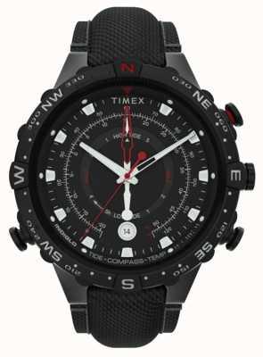 Timex | союзник 45мм | черный ремешок из ткани | черный циферблат | TW2T76400