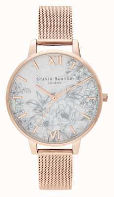 Olivia Burton | женская | цветочные терраццо | браслет из розового золота | OB16TZ04