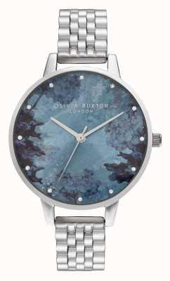 Olivia Burton | женская | под морем | синий коралловый циферблат | OB16US06