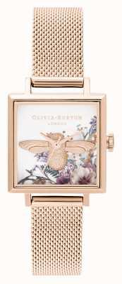 Olivia Burton | женская | заколдованный сад | 3d пчела | сетка из розового золота | OB16EG152