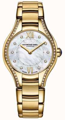 Raymond Weil | женская | ноемия | алмаз | золотой браслет из пвд 5124-PS-00985