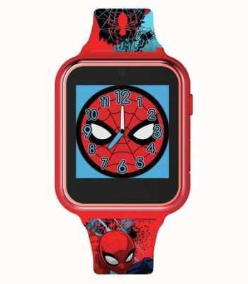 Avengers Умные часы | красный пластиковый корпус | силиконовый ремешок с принтом | SPD4588