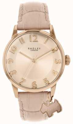 Radley Ливерпуль стрит | розовый кожаный ремешок | розовый циферблат | RY2872