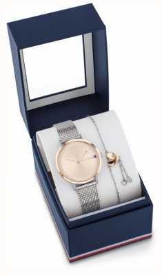 Tommy Hilfiger Подарочный набор с часами и браслетом Pippa 2770053