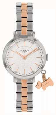 Radley Улица Селби | двухцветный стальной браслет | белый циферблат RY4397