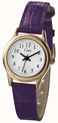 Limit Женский фиолетовый циферблат с белым ремешком 6982