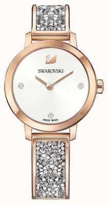 Swarovski | космический рок | браслет из розового золота | белый циферблат | 5376092