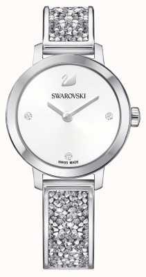 Swarovski | космический рок | браслет из нержавеющей стали | белый циферблат 5376080