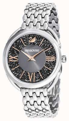 Swarovski | кристаллический глэм | браслет из нержавеющей стали | серый циферблат 5452468