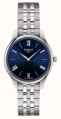 Tissot | традиция | женский браслет из нержавеющей стали | синий циферблат | T0632091104800