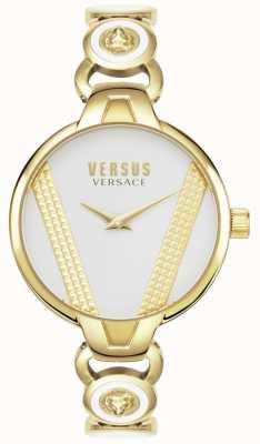 Versus Versace | Сен-Жермен | золотые тона из нержавеющей стали | черный циферблат | VSPER0319