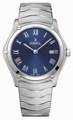 EBEL | мужская спортивная классика | браслет из нержавеющей стали | синий циферблат 1216420A