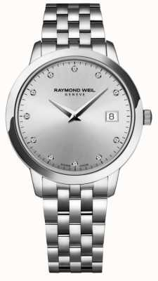Raymond Weil Женские | токката | алмаз | серебряный циферблат 5388-ST-65081